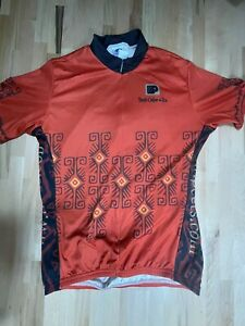 Voler Peet's Coffee Cycling Shirt Jersey Size Medium  (Measurements Included)