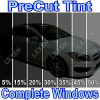ALL PRECUT 2PLY DYED WINDOW TINT KIT COMPUTER CUT GLASS FILM CAR ANY SHADE c