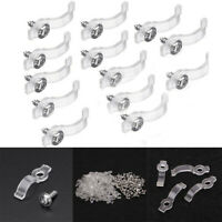 50Pcs*Light Strip Fixer Clips Connector for Fix5050 RGB Single  LED Strips G6A