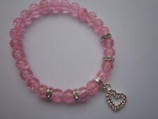 Rhinestone Pink Costume Bracelets