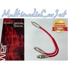 Dragster Sdoppiatore RCA Audio Y 1Masch 2Femmine Amplificatore Schermato