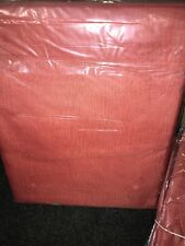 """TERRACOTTA VOILE CURTAIN 1 Voile Panel Rod Pocket Heading 59"""" Wide X 72"""" Drop"""