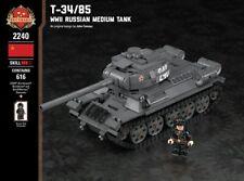 T-34/85 - WW2 Russian Medium Tank - Brickmania Custom LEGO Building Set