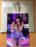 CARLY RAE JEPSON,DEDICATED,NEW SEALED 2019 ALBUM,LP33,+HAND SIGNED PHOTO,COA