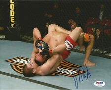Jim Miller Signed UFC 8x10 Photo PSA/DNA COA Picture Autograph 89 96 100 103 108