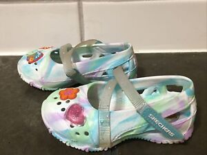 Toddler girls Skechers Cali Gear slip on shoes size 5