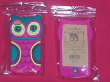 NEW NATURAL LIFE OWL iPHONE 4G 4GS & 4S CELL PHONE 3D SOFT CASE COVER RUBBER GEL