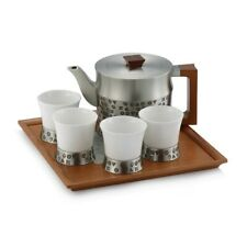 Royal Selangor Hand Finished 5 Elements Collection Pewter Tea Set Gift