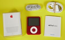 ** EXCELLENT ** Apple iPod nano 3rd Generation Special Edition Red (8 GB)
