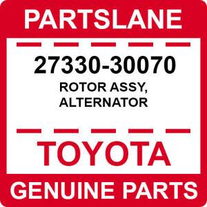 27330-30070 Toyota OEM Genuine ROTOR ASSY, ALTERNATOR