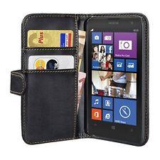 Para Nokia Lumia 1020 Bookstyle bolso funda encaja perfectamente, negro
