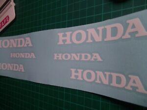 Honda..Brake Caliper..Decals...stickers..on 12 year vinyl..x6