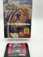 SUMMER CHALLENGE - CARD CASE. Sega Mega Drive.PAL.