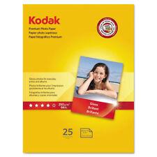 Kodak Premium Photo Paper 8.5 mil Glossy 8 1/2 x 11 25 Sheets/Pack 8689283