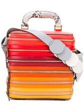ANYA HINDMARCH Circle Salmon Leather Zip Grab Bag - RRP 1595