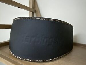 """Harbinger 6"""" Padded Leather Weight Lifting Belt XL Bodybuilding"""