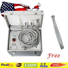 Portable Dental Delivery Unit Air Compressor Suction System Triplex Syringe