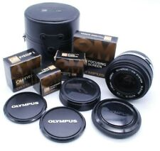 Lot of Olympus Om Lens & Accessories, F3.5 28mm Shoes, Eyecup, Screen, Caps