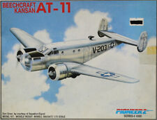 Pioneer 2 1:72 Beechcraft Kansan At-11 Plastic Aircraft Model Kit #4-4009U