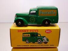DINKY TOYS CODE 2 002 COMMER 1948 BENTALLS DELIVERY VAN - 1:43 - EXCELLENT IB
