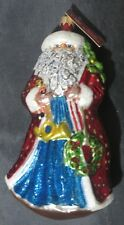 Slavic Treasures Regal Santa Claus New Christmas Ornament Pg-002 Poland