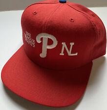 Philadelphia Phillies NL Champs New Era SnapBack  Wool Hat Cap MLB 90s World