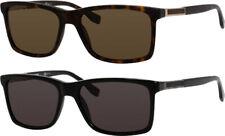 Hugo Boss Polarized Men's Rectangle Classic Sunglasses - B0704PS