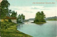 Postcard Lake Quinsigamond, Worcester, MA