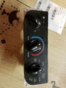 97 98 FORD F150 TEMPERATURE CONTROL W/AC W/O AUTOMATIC TEMPERATURE CONTROL