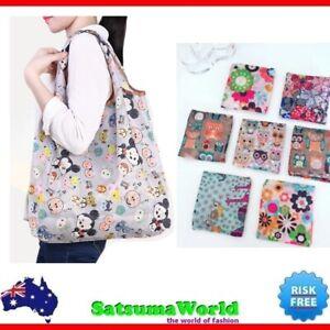 Shopping Travel Shoulder Bag Strong Pouch Handbag Folding Tote Long Handle Bags
