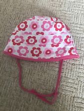 17d49c7956a Toby Tiger Reversible Sunhat 3-6-9-12 Mth Girls Clothing Summer Holidays