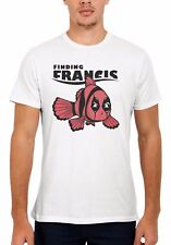 Finding Francis Deadpool Marvel Men Women Vest Tank Top Unisex T Shirt 138E