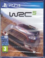 Ps4 PlayStation WRC 5 nuovo sigillato italiano pal