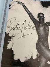 Vintage Lisette Malidor Signed Program Folies Bergere De Paris