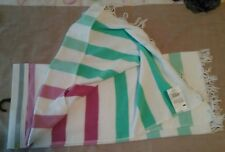 Active & Co beach towel turkish style cotton 75cmx145cm quick dry NWOT