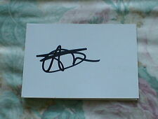 SIGNED ALEX SMITHIES  Q.P.R  HUDDERSFIELD ENGLAND  WHITE CARD
