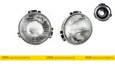 FOR DATSUN 1200 UTE SEDAN WAGON FRONT HEAD LIGHTS WITH BRACKETS- PAIR (LH + RH)