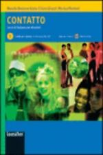 CONTATTO 1 (MANUALE +CD). NUEVO. Nacional URGENTE/Internac. económico. LIBRO DE