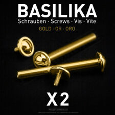 Poljot Basilika Spring Bars with Screws for Bracelet Montre Russe Russian Watch