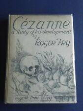 CEZANNE A STUDY OF HIS DEVELOPMENT. ROGER FRY. HOGARTH PRESS. 1932
