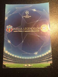 Programm CL , Steaua Bukarest - FC Bayern München . 17.09.08