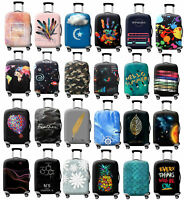 """Luggage Cover Suitcase Bag Case Dustproof 18""""-32"""" Elastic Thicker Travel Covers"""