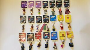 Lego Keyring Keychain Ninjago City Elves Nexo Knights Star Wars Pick your Own