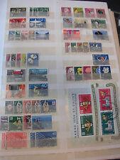 Sammlung Schweiz aus 1948-1977 gestempelt mit Block 15-19 usw. 14 Seiten (1517)