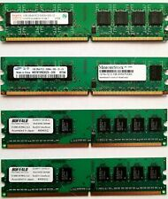 512MB 667MHZ RAM (4x1GB) DDR2 RAM MIXED LOT