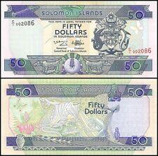 Solomon Islands 50 Dollars, 1996, P-22, UNC