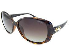 Polaroid Mujer Marrón Negro Oro Gafas de Sol Polarizadas Marron Degradado  P8430 5022dd994220