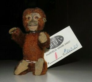 Antique Toy German SCHUCO MONKEY PERFUME BOTTLE Hidden  ~  RARE!