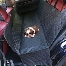 Black Auto Car Pet Dogs Cats Rear Seat Cover Mat 600D Oxford Folding Durable Kit