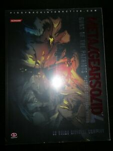 Guide officiel PIGGYBACK - Metal Gear Solid 4 Guns of the Patriots neuf, blister
